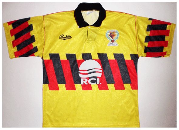 Watford home. 91/92