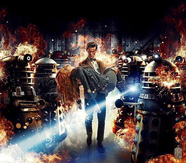 ilustraciones dr who 1 Increíbles diseños inspirados en Dr. Who por Lee Binding