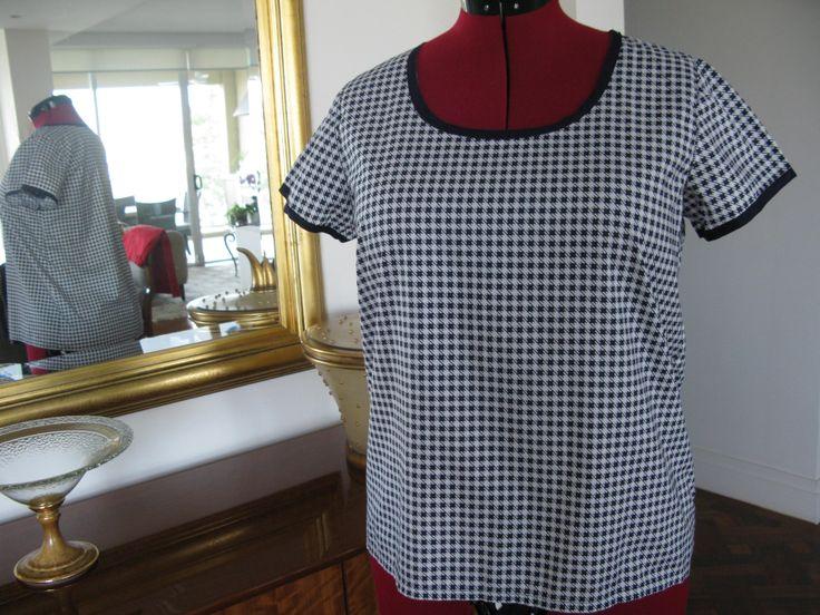 Grainline Scout woven tee pattern