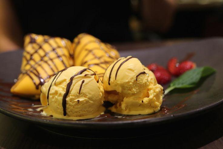 Egg pancakes dessert, Chefs Gallery Classic, Westfield Hurstville, Sydney