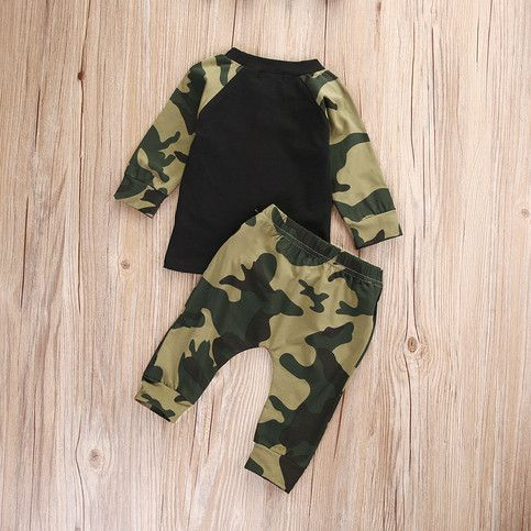 2pcs suit !! Cute Newborn Baby Boys Kids Camouflage Clothes sold by Tinyicon. Shop more products from Tinyicon on Storenvy, the home of independent small businesses all over the world.