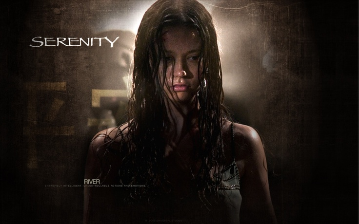 Serenity movie Summer Glau Firefly River Tam wallpaper