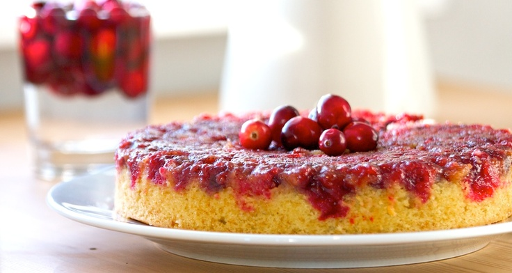 ... try this one! Cranberry upside-down cake from Kitchen Simplicity