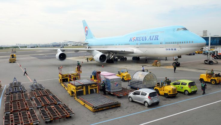 https://flic.kr/p/21nAKb5 | Boeing 747-400 (HL7492) at GMP Seoul Airport - Korean Air