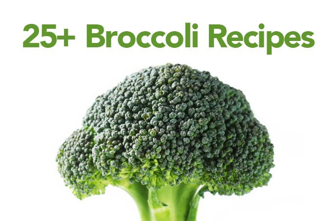 A variety of over 25 broccoli recipes for any time of the year.