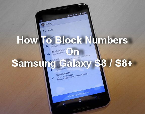 How to block apps on samsung galaxy s8