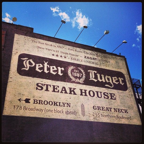 Peter Luger steak house :: Brooklyn, New York - is one of the most iconic steak houses in the country