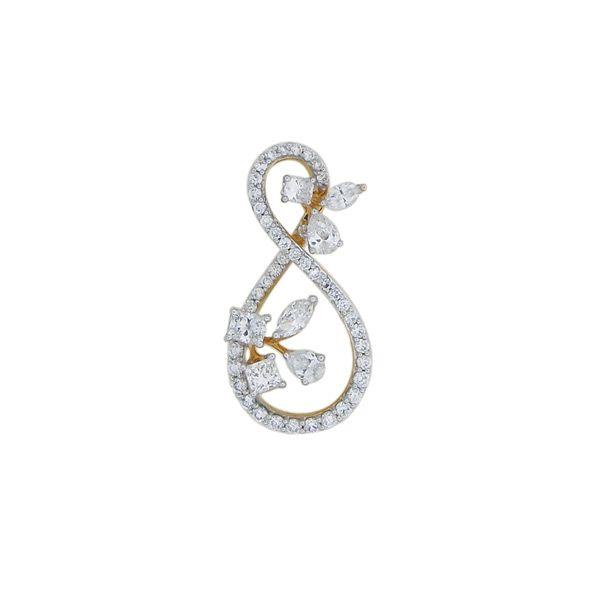 One Beautiful Infinite Diamond Pendant