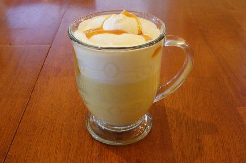 Hot Butterbeer - this one is amazing!!!  Used 1/4 tsp of vanilla, 1/4 tsp butter, 1/4 tsp almond (would use butterscotch instead of almond too) in place of Vanilla Butter-Nut flavoring.