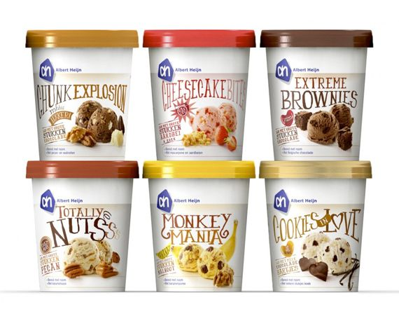 on ice cream #packaging #tubs