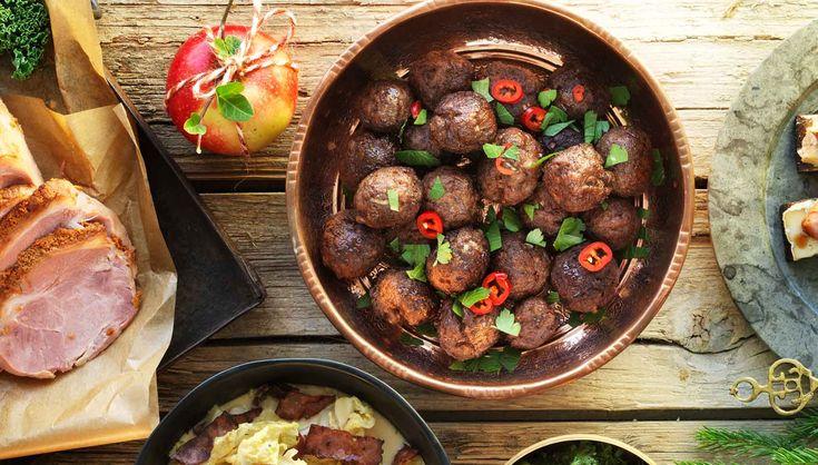 Kryddiga kalkonköttbullar - Ingelsta kalkon