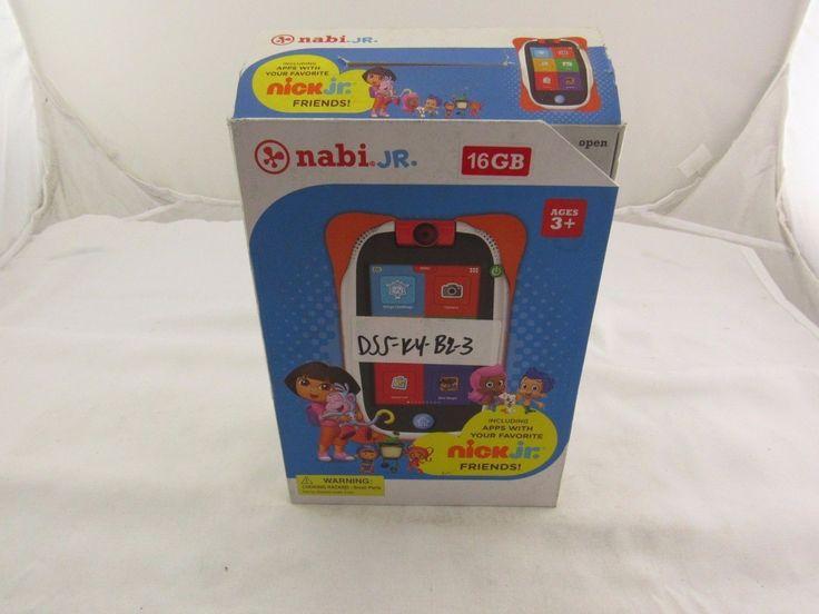 Nabi Jr. 16GB, - Orange & Red Covers (Nick Jr. Edition)