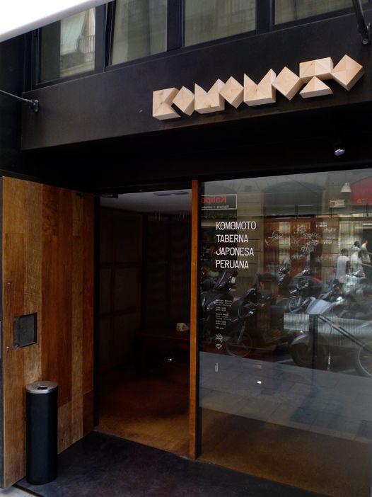 Komomoto, Barcelona.