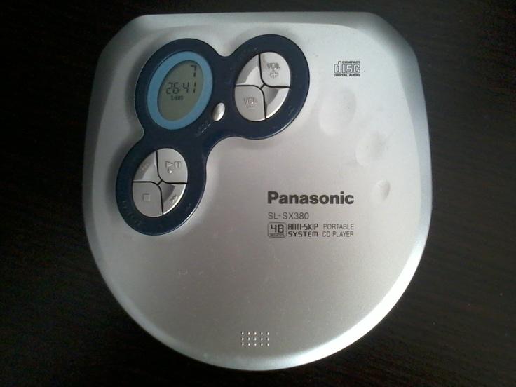 Portable CD Player - Panasonic SL-SX380