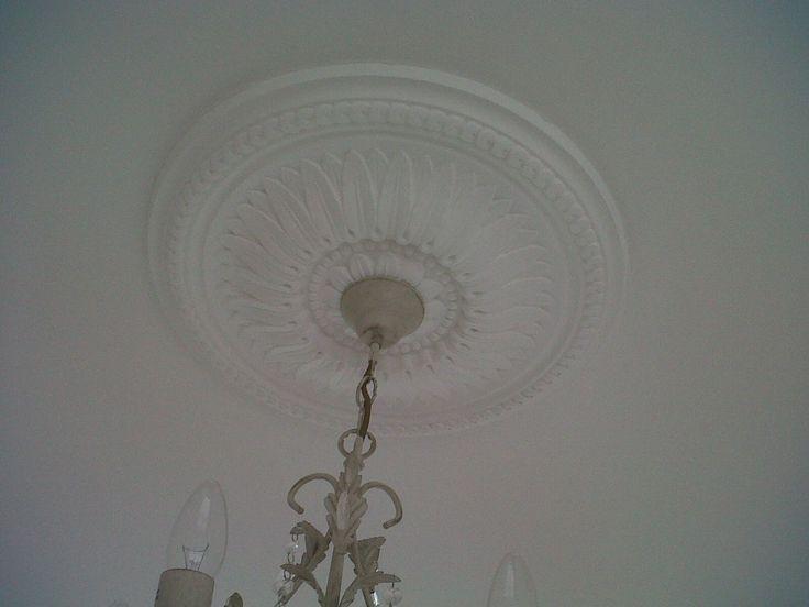 Sunflower plaster ceiling rose 520mm dia mpr006