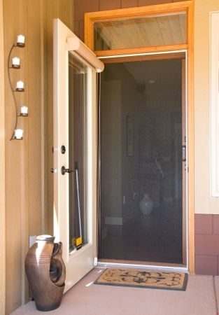Good Phantom Screens Are Perfect For Single In Swing And Out Swing Doors   You