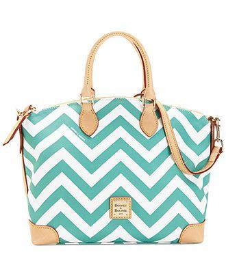 Dooney & Bourke Chevron Satchel - Satchels - Handbags & Accessories - Macy's