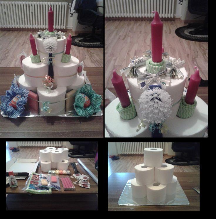 ... klopapier torte jana hochzeit torte aus und passend jedem anlass