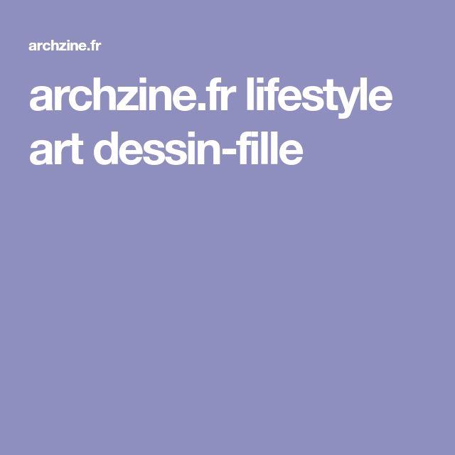 archzine.fr lifestyle art dessin-fille