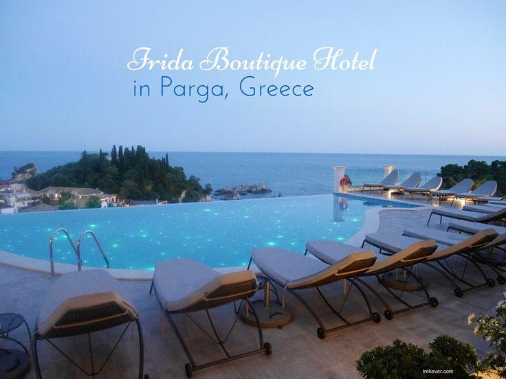 A description of Irida Boutique Hotel in Parga, Greece