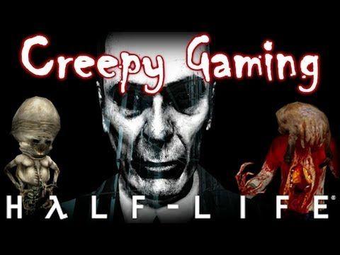 Creepy Gaming - HALF LIFE G-Man Theory - YouTube