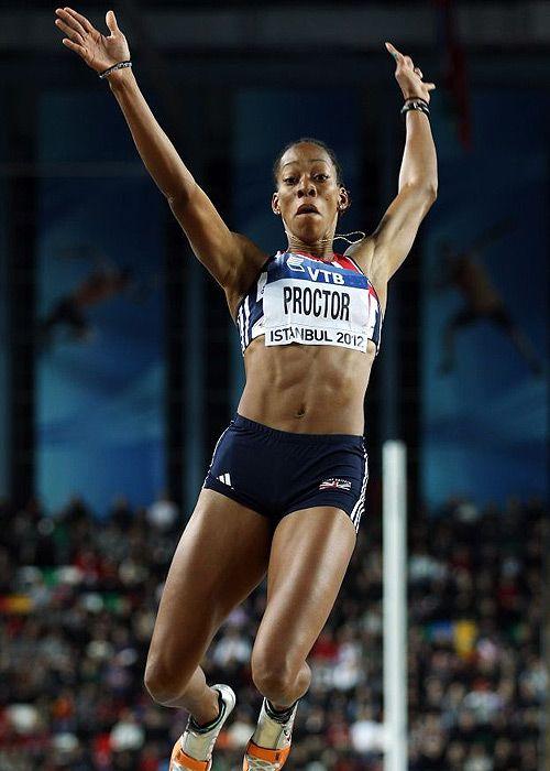 Shara Proctor - long jump.