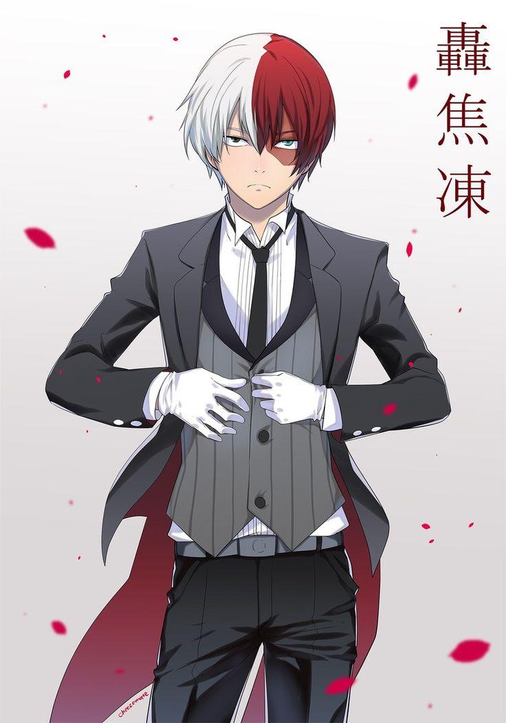 Character: Todoroki Shouto   Personagens de anime, Anime ...