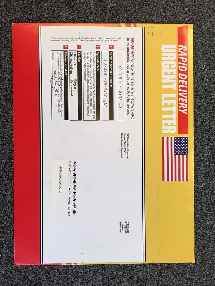 Best  X  Express Envelopes Images On   Envelopes