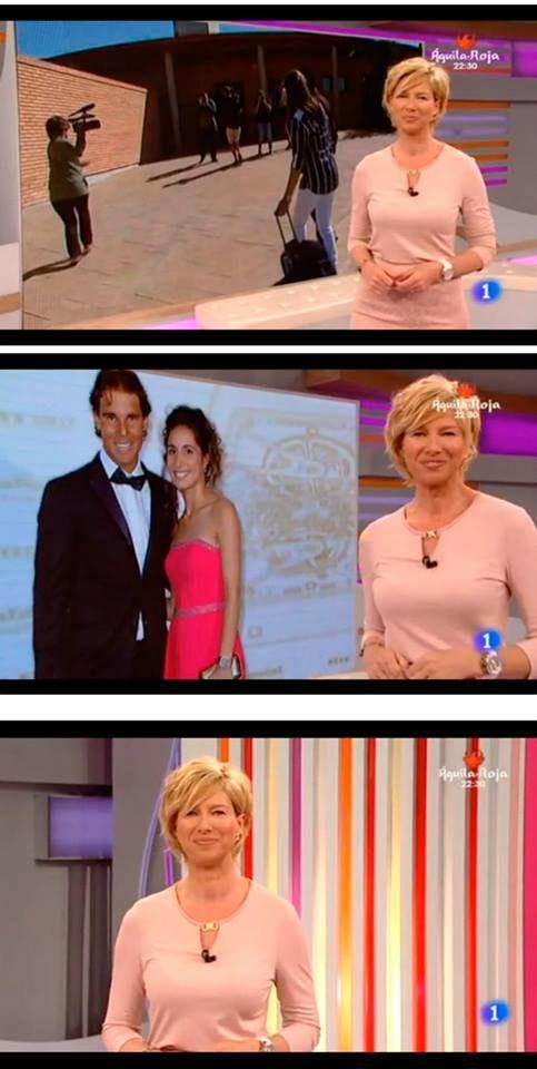 La presentadora del programa 'Corazón de' de TVE, Anne Igartibutu, con nuestras joyas de Pippa&Jean.  #moda #modamujer #prensa #joyas #bisuteria #pippajeans #pippaandjeans #revista #periodico #tv