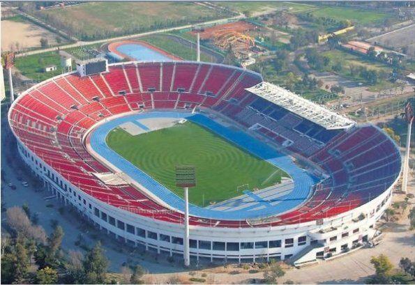 Estadio Nacional Julio Martinez Prádanos de Santiago de Chile