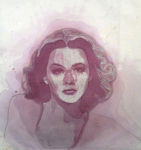 La artista Amelia Harnas presenta esta serie de arte en donde retratos deslumbrantes son creados con vino tinto derramado, utilizando hilo de bordar para localizar y refinar sus súbditos carmesí en...