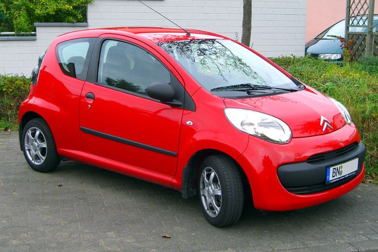 No 4 - Red Citroen C1