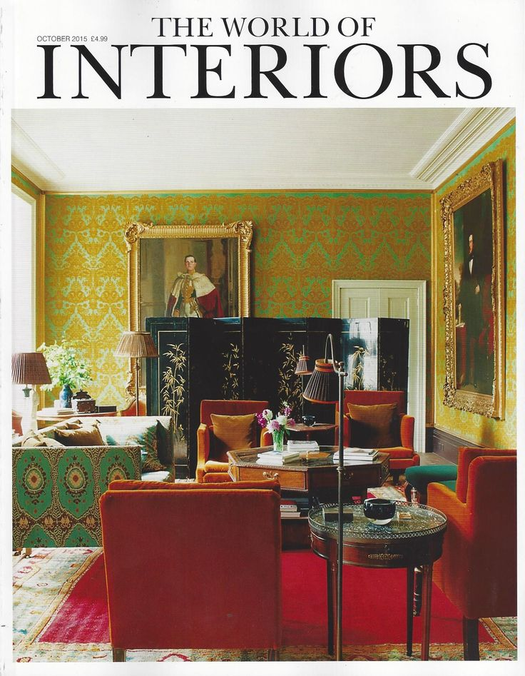 The World of Interiors October 2015