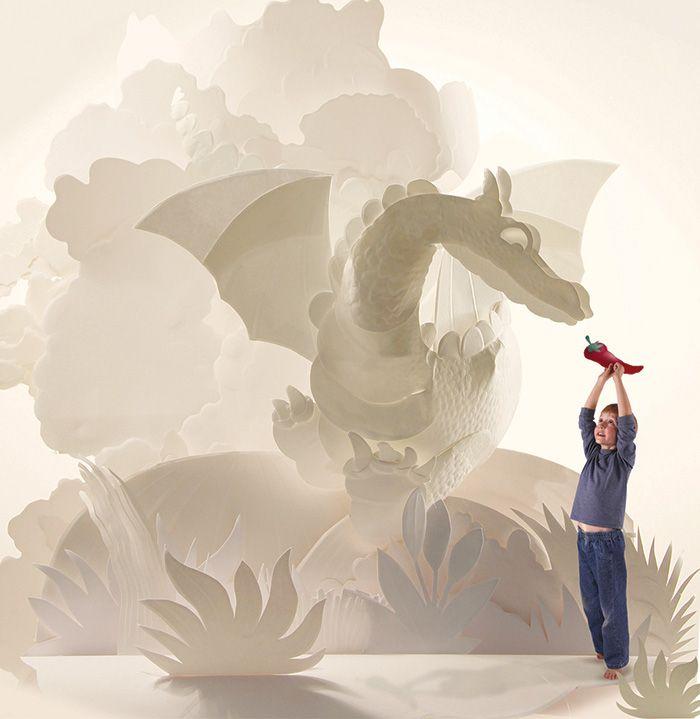 Hazel Buchan :: freelance paper sculptor / illustrator ::