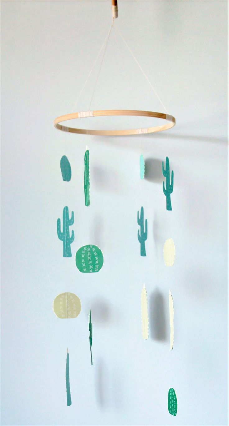 best  baby cactus ideas on pinterest  bohemian nursery  - baby mobile cactus baby mobile cacti mobile nursery decor modern babymobile