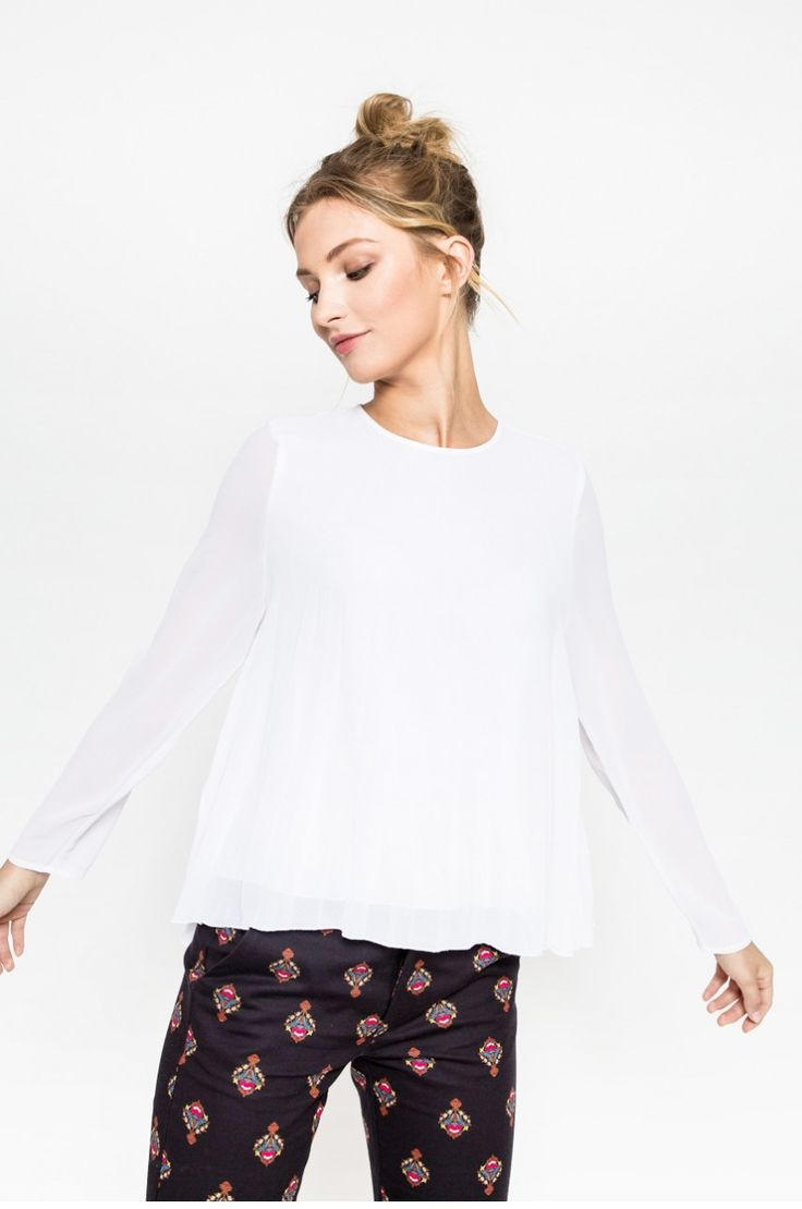 Medicine - Koszula Nocturne kolor biały RW17-BDD603 - oficjalny sklep MEDICINE online