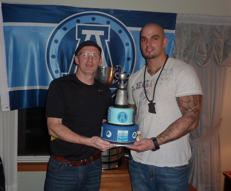 Cake delivered to Ricky foley from the Argos