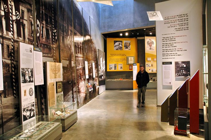 The Holocaust History Museum - From Equals to Outcasts: This gallery examines Nazi Germany and its anti-Jewish policies from its rise to power until the outbreak of WWII. The exhibit follows the dramatic and swift changes imposed by the Nazis that saw the Jews of Germany transformed from equal citizens to outcast subjects. As they pass through the gallery, visitors are confronted with a number of the antisemitic signs that became commonplace in Nazi Germany.