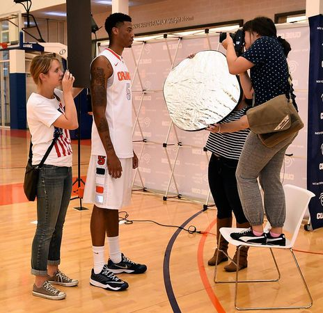 Syracuse men's basketball media day