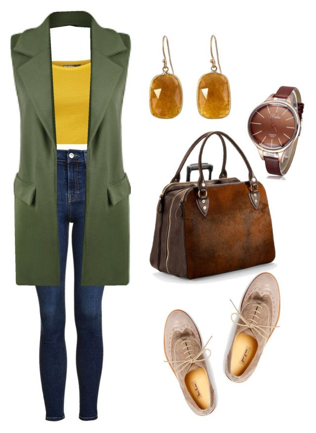 """look contraste de temperatura"" by lanaprada-lp on Polyvore featuring WearAll, Topshop, Aspinal of London, Paul Green and Solow"