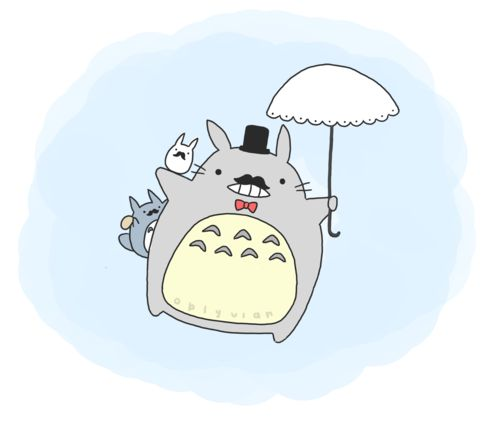 Kawaii Case Blog » Blog Archive » Kawaii of the Day 266 – Totoro Illustration