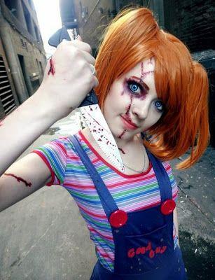 cosplay horreur deguisement halloween 1 Cosplay horreur compilation spéciale Halloween terreur photo peur image horreur halloween dégu...