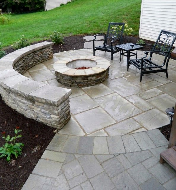 Great Bbq Pit Set Up For The Backyard Perfect Under The: 289 Best Images About Stone Patio Ideas On Pinterest