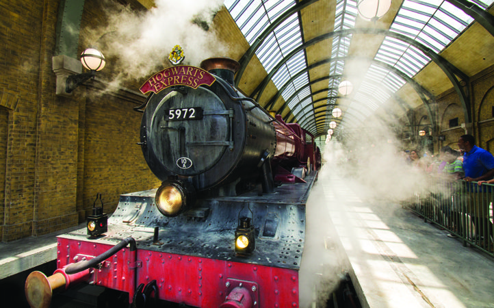 The Hogwarts Express at Universal Orlando Resort Wizarding World of Harry Potter