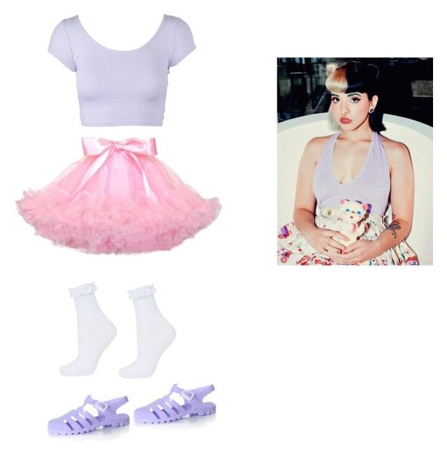 """""""Melanie Martinez style"""" by niall-luvs-me-134 ❤ liked on Polyvore featuring Topshop and Glamorous"""