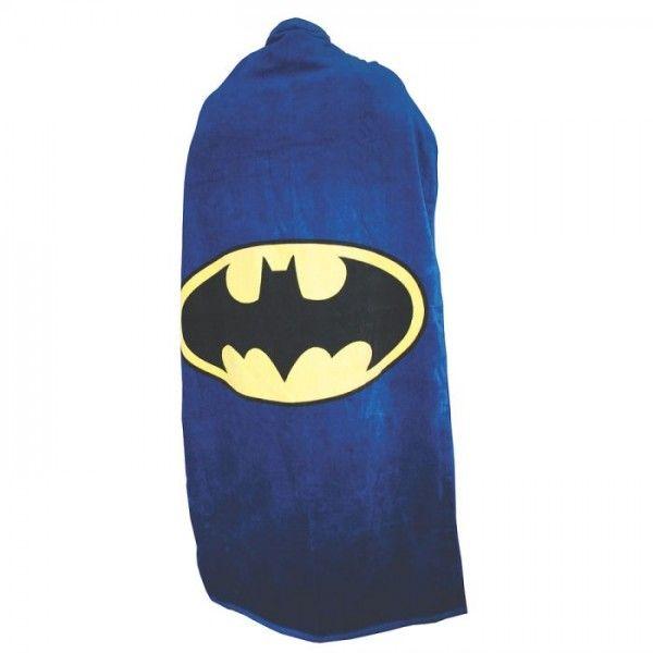 Serviette de Plage Bain Cape Batman // 18.90€ // des petits airs de super héros à la plage !