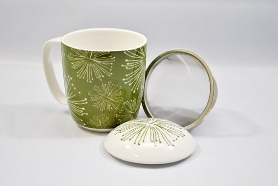 Herbal Tea Mugs | Tableware | Bliss Garden and Giftware online store
