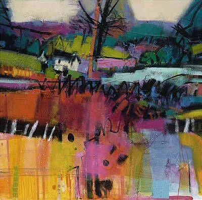 British Artist Francis Boag-Still Water, Deeside