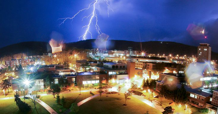 Lightening over Binghamton University - by Jonathan Cohen: Small Town, Triple Cities, Favorite Places, Fantastic Photography, Thunder Lightning Storm, Daily Photos