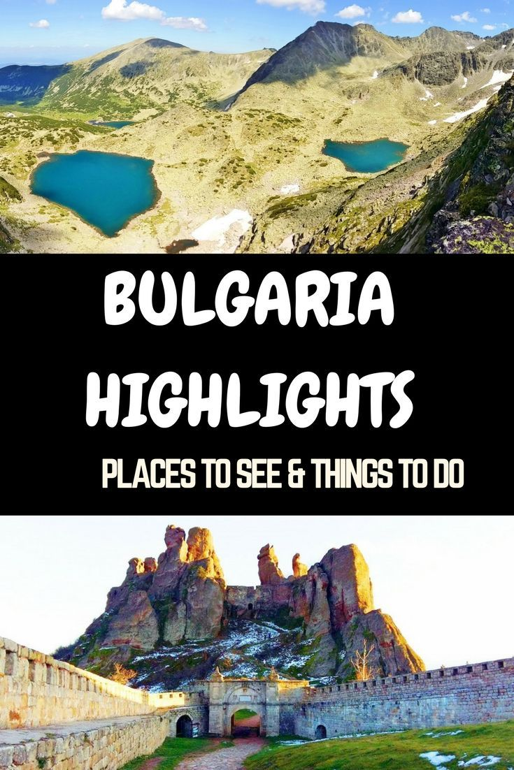 Ideas for your first trip to Bulgaria as recommended by a local- Where to go, what to do and see in Bulgaria